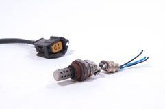 自动氧气传感器 免版税库存图片