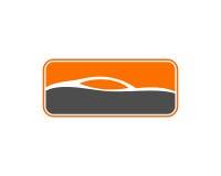 自动汽车商标模板 免版税图库摄影