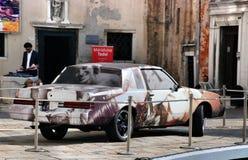 自动汽车在威尼斯 免版税图库摄影