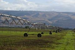 自动灌溉系统 免版税库存照片