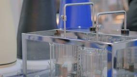 自动片剂崩解和溶解用具 影视素材