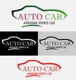 自动现代汽车商标 库存例证