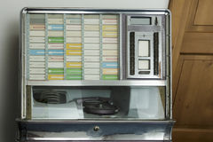 自动电唱机 库存图片