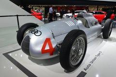 自动联合类型D赛车 免版税图库摄影