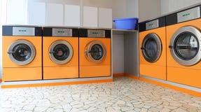 自动自动洗衣店 库存图片
