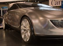 自动车展运输 免版税图库摄影