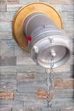 自动连接外部喷水隆头储水塔 免版税库存图片