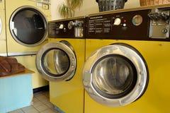 自动洗衣店 库存图片