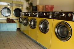 自动洗衣店 免版税库存图片