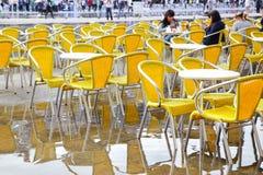 自助食堂在威尼斯 库存照片