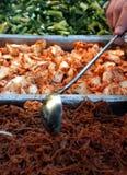 自助餐中国人市场 免版税库存图片
