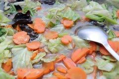 自助餐中国人食物 免版税库存图片