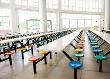 自助餐厅学校 免版税库存照片