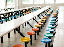 自助餐厅学校 免版税库存图片