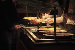 自助餐厅 图库摄影