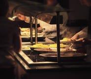 自助餐厅 免版税库存图片