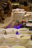 自助餐晚餐在中国 免版税库存图片