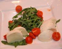 自助餐晚餐意大利餐馆承办酒席食物概念 库存图片