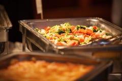 自助餐混合沙拉 库存图片