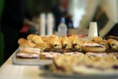 自助餐甜点 免版税库存照片