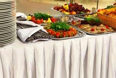 自助餐的食物 库存照片