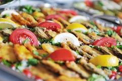 自助餐食物 免版税库存图片