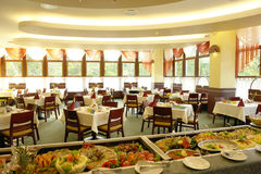 自助餐餐厅 图库摄影