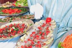 自助餐 免版税图库摄影