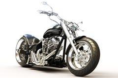 自定义摩托车 向量例证
