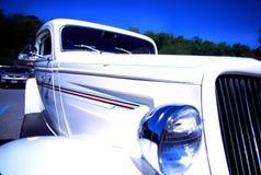 自定义旧车改装的高速马力汽车 免版税图库摄影