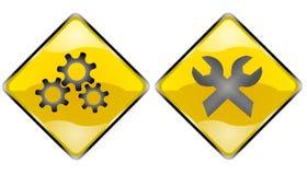 自定义符号 免版税库存图片