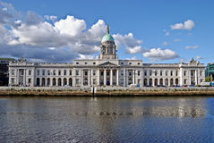 自定义都伯林房子爱尔兰 免版税库存图片