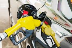 自已服务燃油泵 免版税库存图片