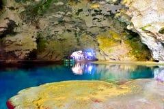 自然下面地面水池 库存照片