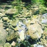 自然不可思议的美丽的岩石 免版税图库摄影