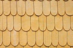 自然传统木屋顶 免版税库存照片