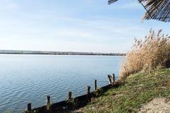 自然保护的湖 免版税库存图片