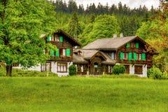 自然保护Kladska - Marianske Lazne -捷克 免版税库存图片