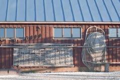 自然光的菲什曼的房子 免版税库存照片