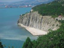 自然全景山风景 免版税库存照片