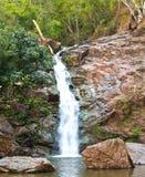 自然公园瀑布 库存图片