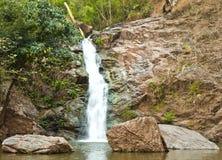 自然公园瀑布 图库摄影