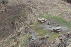 自然公园`蓝色岩石` -保加利亚,斯利文 免版税库存图片