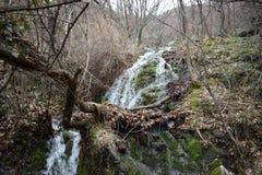 自然公园`蓝色岩石` -保加利亚,斯利文 免版税库存照片
