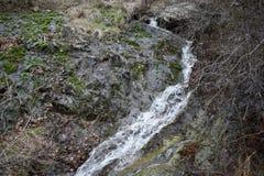 自然公园`蓝色岩石` -保加利亚,斯利文 图库摄影