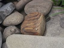 自然创造的石头 库存照片