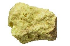 自然力硫磺 库存照片