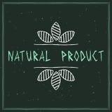 自然化妆用品设计元素 免版税库存照片