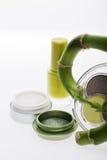 自然化妆用品 免版税库存图片