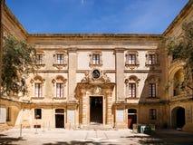 自然历史博物馆在马耳他 免版税库存图片